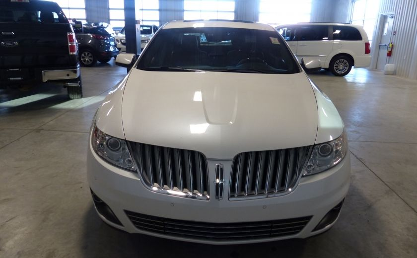 2011 Lincoln MKS 4dr Sdn 3.7L AWD (CUIR-TOIT-NAV) Bluetooth #1