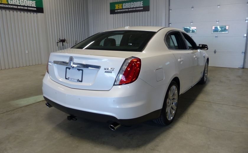 2011 Lincoln MKS 4dr Sdn 3.7L AWD (CUIR-TOIT-NAV) Bluetooth #6