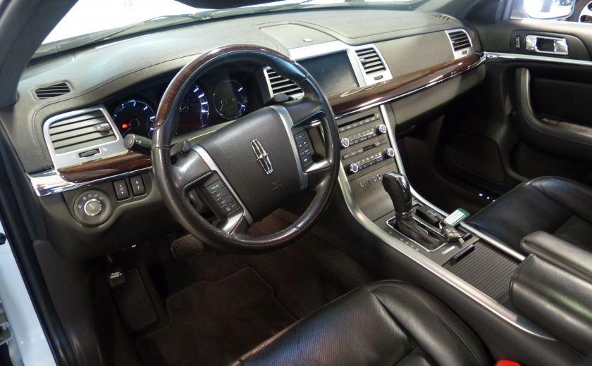 2011 Lincoln MKS 4dr Sdn 3.7L AWD (CUIR-TOIT-NAV) Bluetooth #8