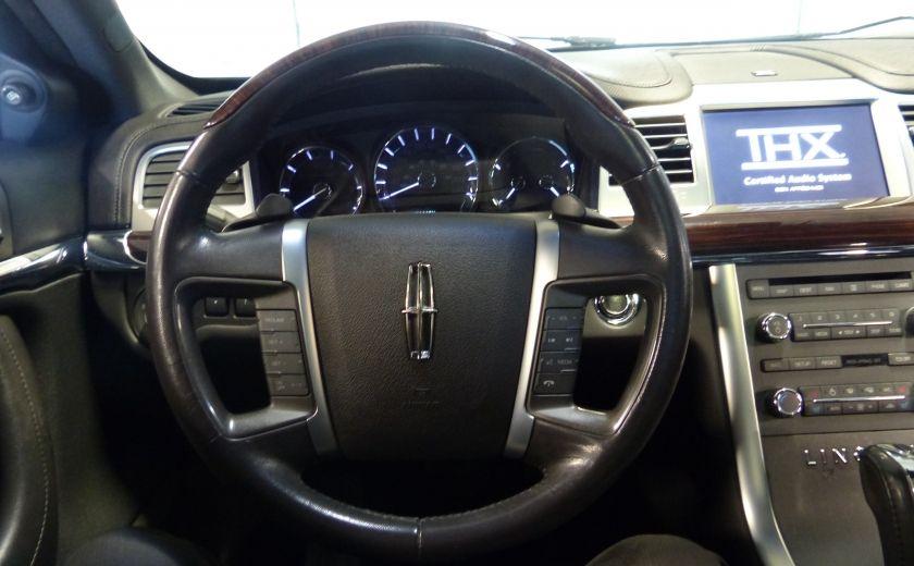 2011 Lincoln MKS 4dr Sdn 3.7L AWD (CUIR-TOIT-NAV) Bluetooth #9
