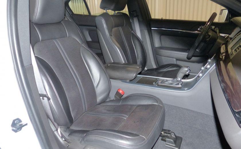 2011 Lincoln MKS 4dr Sdn 3.7L AWD (CUIR-TOIT-NAV) Bluetooth #28