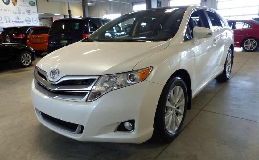 2015 Toyota Venza XLE AWD 4cyl. (Cuir-Toit-Nav-Mags) #2
