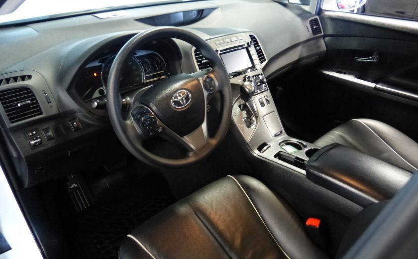 2015 Toyota Venza XLE AWD 4cyl. (Cuir-Toit-Nav-Mags) #8