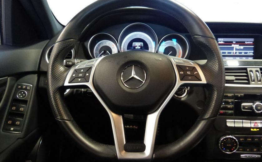 2013 Mercedes Benz C300 4MATIC (Cuir-Toit-Mags) #9