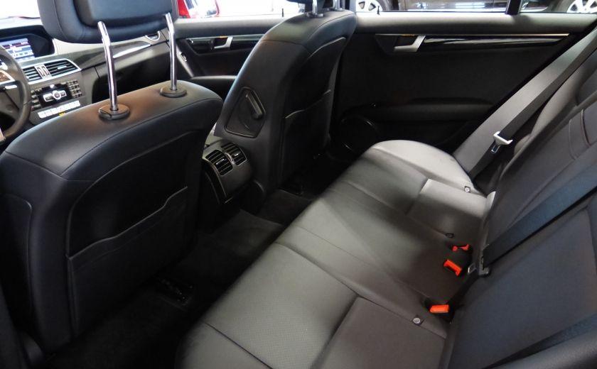 2013 Mercedes Benz C300 4MATIC (Cuir-Toit-Mags) #22