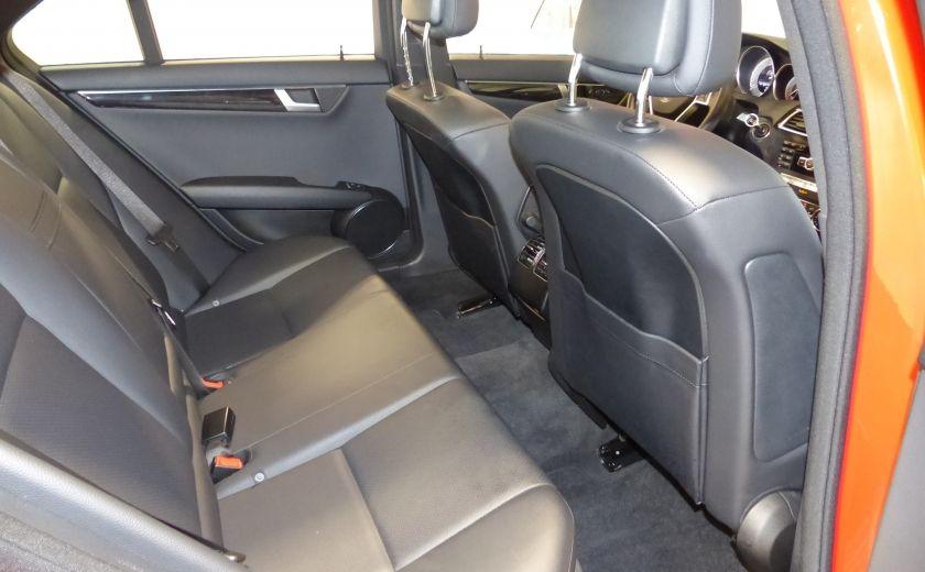 2013 Mercedes Benz C300 4MATIC (Cuir-Toit-Mags) #25