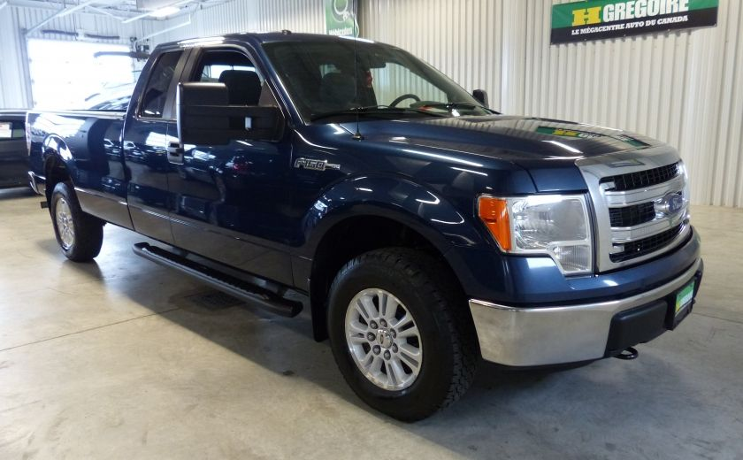 2013 Ford F150 XLT 4X4 King Cab (Boite 8 Pieds) Mags+Bluetooth #0