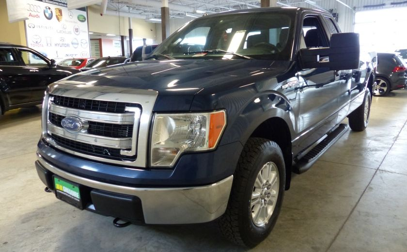2013 Ford F150 XLT 4X4 King Cab (Boite 8 Pieds) Mags+Bluetooth #2