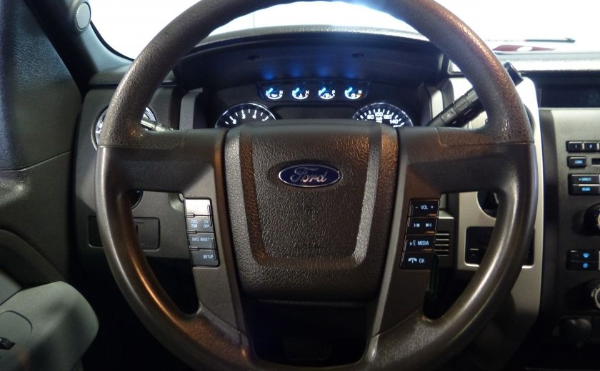 2013 Ford F150 XLT 4X4 King Cab (Boite 8 Pieds) Mags+Bluetooth #9