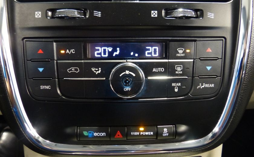 2015 Chrysler Town And Country Touring A/C Gr-Électrique (DVD-Camera-Bluetooth) #16