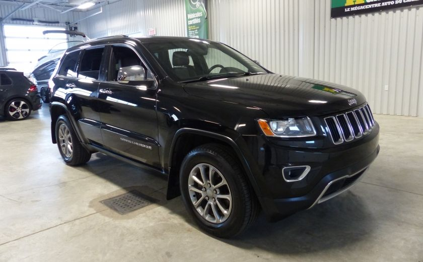 2014 Jeep Grand Cherokee Limited AWD (Cuir-Toit-Mags) #0
