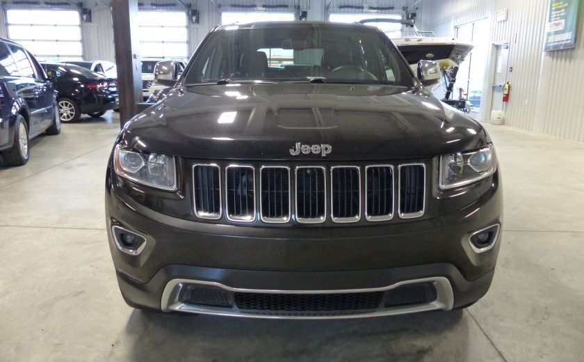2014 Jeep Grand Cherokee Limited AWD (Cuir-Toit-Mags) #1