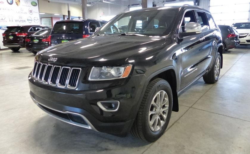 2014 Jeep Grand Cherokee Limited AWD (Cuir-Toit-Mags) #2