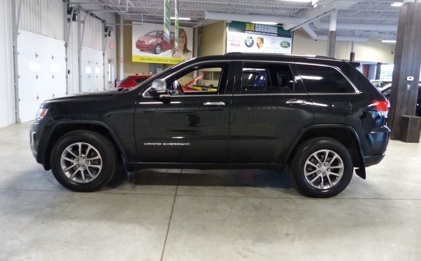 2014 Jeep Grand Cherokee Limited AWD (Cuir-Toit-Mags) #3