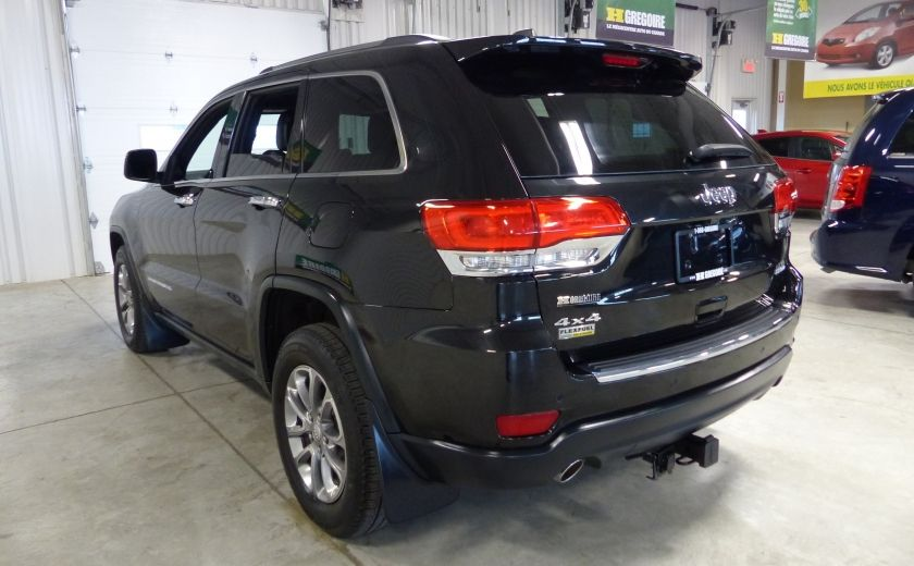 2014 Jeep Grand Cherokee Limited AWD (Cuir-Toit-Mags) #4