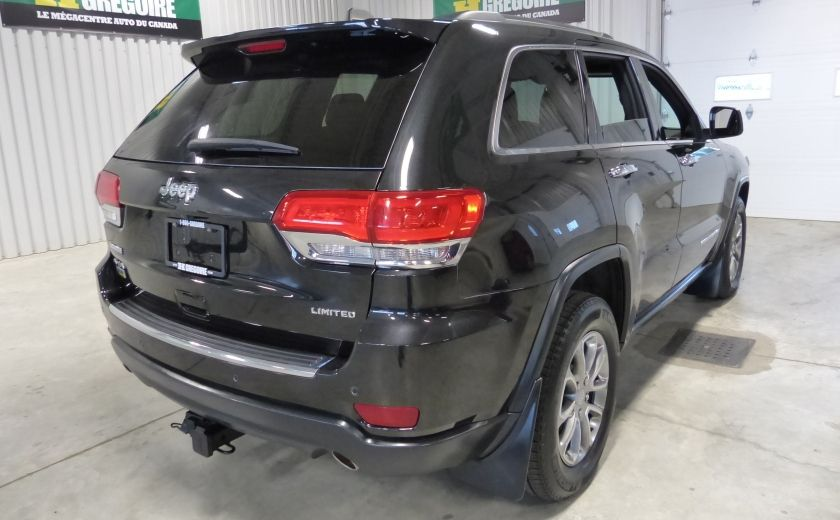 2014 Jeep Grand Cherokee Limited AWD (Cuir-Toit-Mags) #6