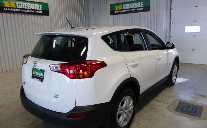 2015 Toyota Rav 4 LE  AWD A/C Gr-Électrique Bluetooth #6