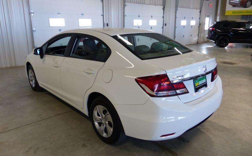 2015 Honda Civic LX A/C Gr-Électrique (Bluetooth-Sièges Chauffants) #4