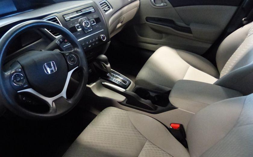2015 Honda Civic LX A/C Gr-Électrique (Bluetooth-Sièges Chauffants) #8
