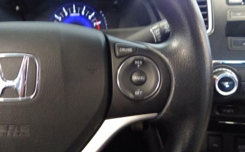 2015 Honda Civic LX A/C Gr-Électrique (Bluetooth-Sièges Chauffants) #12