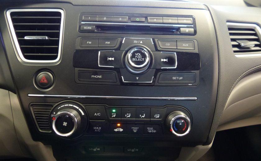 2015 Honda Civic LX A/C Gr-Électrique (Bluetooth-Sièges Chauffants) #15