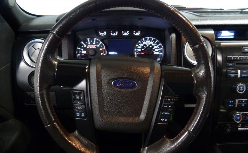 2012 Ford F150 FX4 4WD CREW (Cuir-Mags 20P-Camera) Boite 6.5 #13