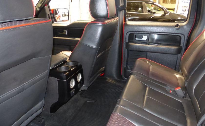 2012 Ford F150 FX4 4WD CREW (Cuir-Mags 20P-Camera) Boite 6.5 #23