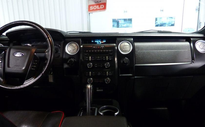 2012 Ford F150 FX4 4WD CREW (Cuir-Mags 20P-Camera) Boite 6.5 #26