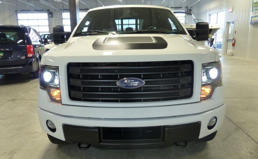 2014 Ford F150 FX4 Ecoboost TURBO Crew (Cuir-Toit-Nav-Mags 20p) #1