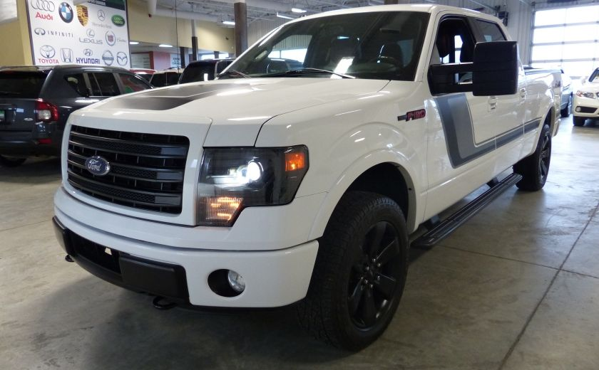 2014 Ford F150 FX4 Ecoboost TURBO Crew (Cuir-Toit-Nav-Mags 20p) #2