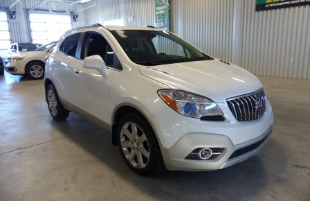 2013 Buick Encore AWD (CUIR-TOIT) A/C Gr-Électrique Cam Bluetooth in New Richmond