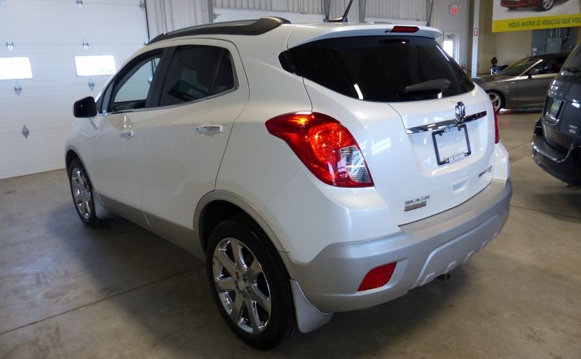 2013 Buick Encore AWD (CUIR-TOIT) A/C Gr-Électrique Cam Bluetooth #2