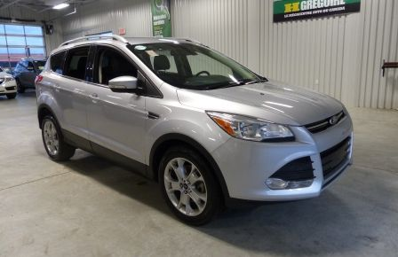 2015 Ford Escape Titanium 2.0T AWD A/C Gr-Électrique (Cuir-Mag-Cam) in New Richmond