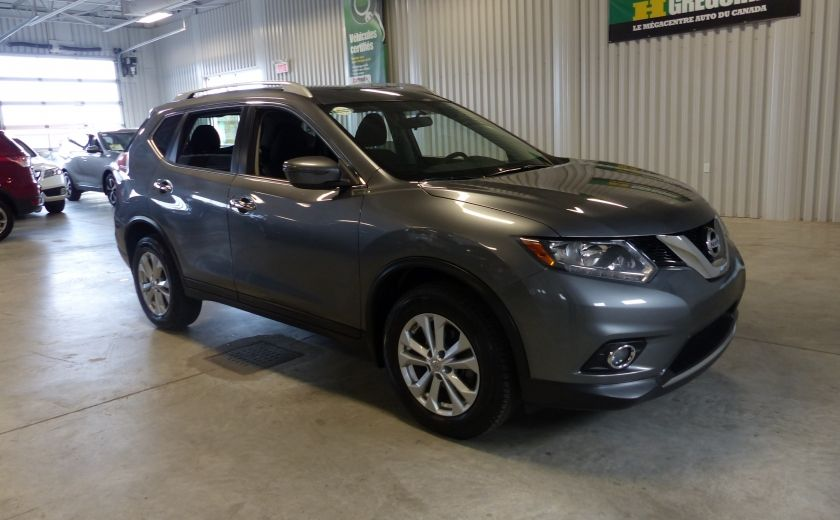 2016 Nissan Rogue SV AWD TOIT PANO  A/C Gr-Électrique Bluetooth Cam #0