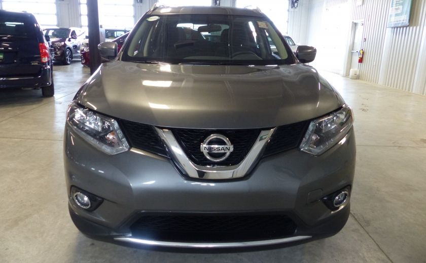 2016 Nissan Rogue SV AWD TOIT PANO  A/C Gr-Électrique Bluetooth Cam #1