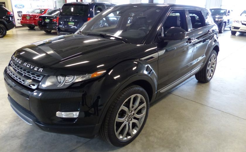 2015 Land Rover Range Rover Evoque Pure City TURBO AWD (Cuir-Toit pano-Nav-Meridian) #2