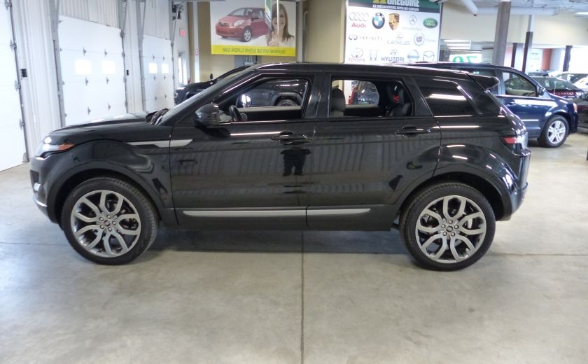 2015 Land Rover Range Rover Evoque Pure City TURBO AWD (Cuir-Toit pano-Nav-Meridian) #3