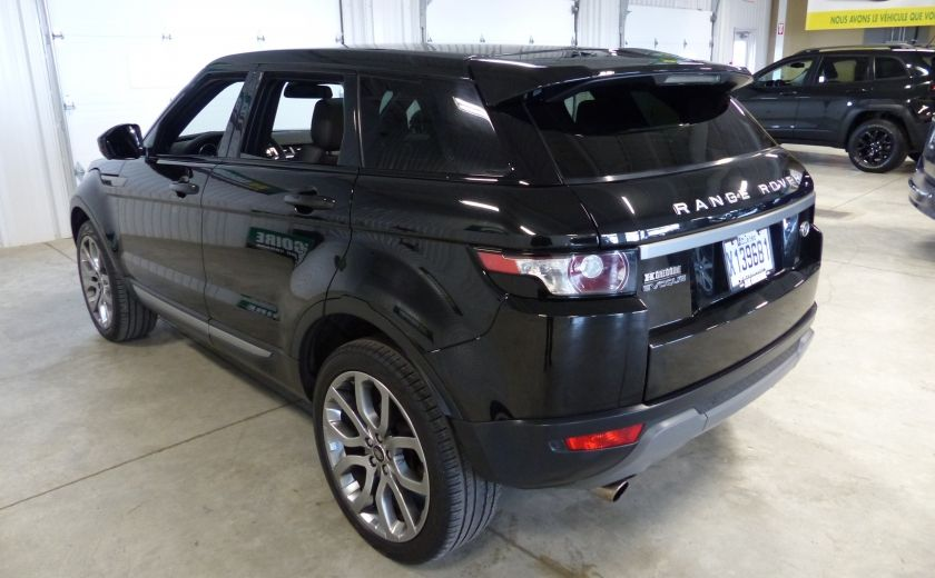 2015 Land Rover Range Rover Evoque Pure City TURBO AWD (Cuir-Toit pano-Nav-Meridian) #4