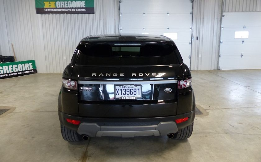 2015 Land Rover Range Rover Evoque Pure City TURBO AWD (Cuir-Toit pano-Nav-Meridian) #5
