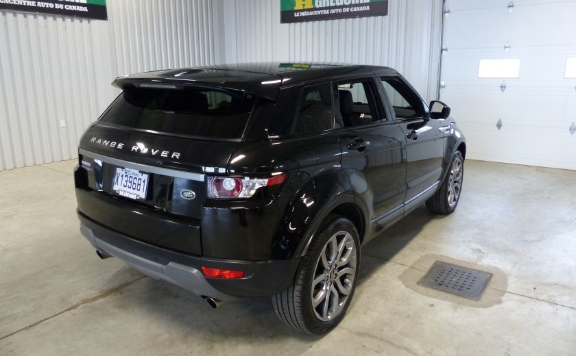2015 Land Rover Range Rover Evoque Pure City TURBO AWD (Cuir-Toit pano-Nav-Meridian) #6