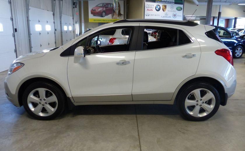 2015 Buick Encore AWD (CUIR-MAGS-) A/C Gr-Électrique #3