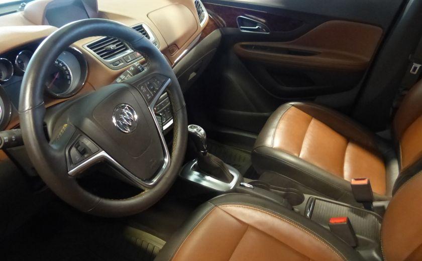 2015 Buick Encore AWD (CUIR-MAGS-) A/C Gr-Électrique #8