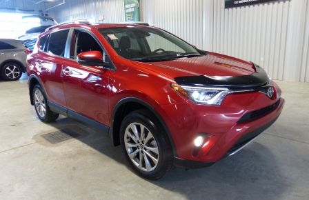 2016 Toyota Rav 4 Limited AWD (Cuir-Toit-Nav-Mags) in New Richmond