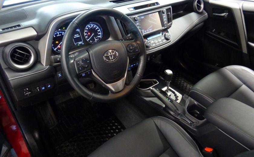 2016 Toyota Rav 4 Limited AWD (Cuir-Toit-Nav-Mags) #21