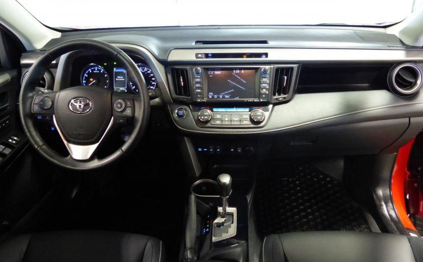 2016 Toyota Rav 4 Limited AWD (Cuir-Toit-Nav-Mags) #29