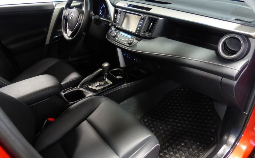 2016 Toyota Rav 4 Limited AWD (Cuir-Toit-Nav-Mags) #30