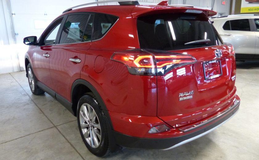 2016 Toyota Rav 4 Limited AWD (Cuir-Toit-Nav-Mags) #4