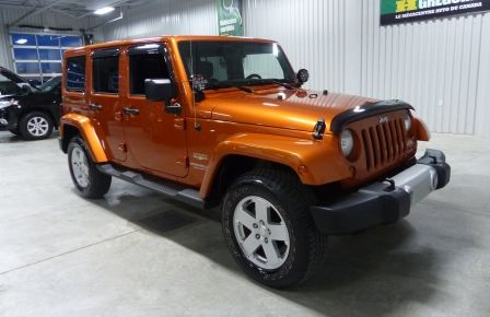 2011 Jeep Wrangler Sahara 4X4 A/C Gr-Électrique in New Richmond