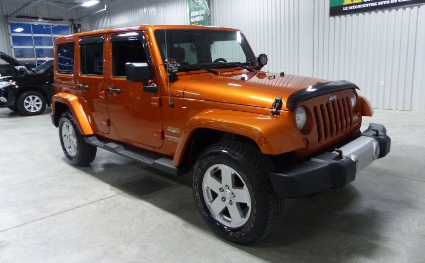 2011 Jeep Wrangler Sahara 4X4 A/C Gr-Électrique #0