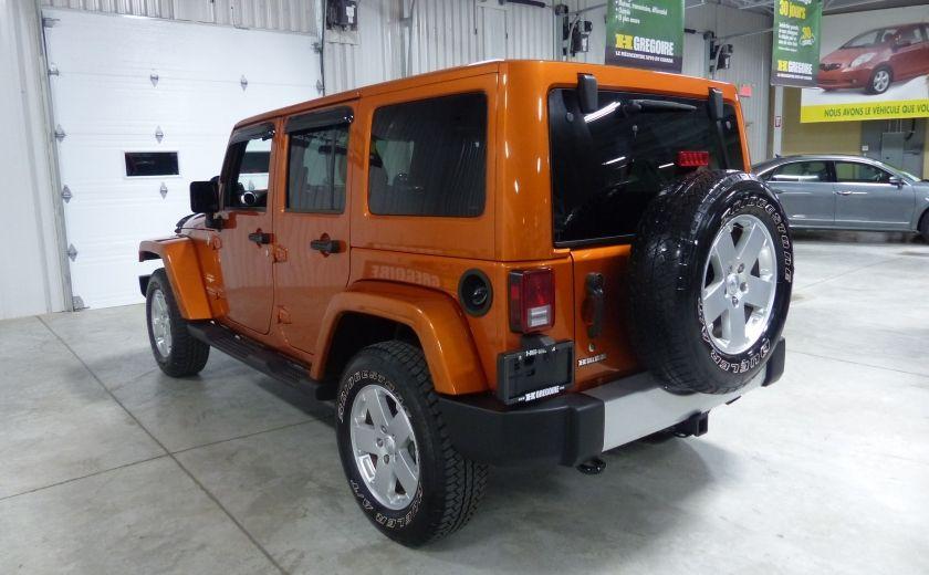 2011 Jeep Wrangler Sahara 4X4 A/C Gr-Électrique #4